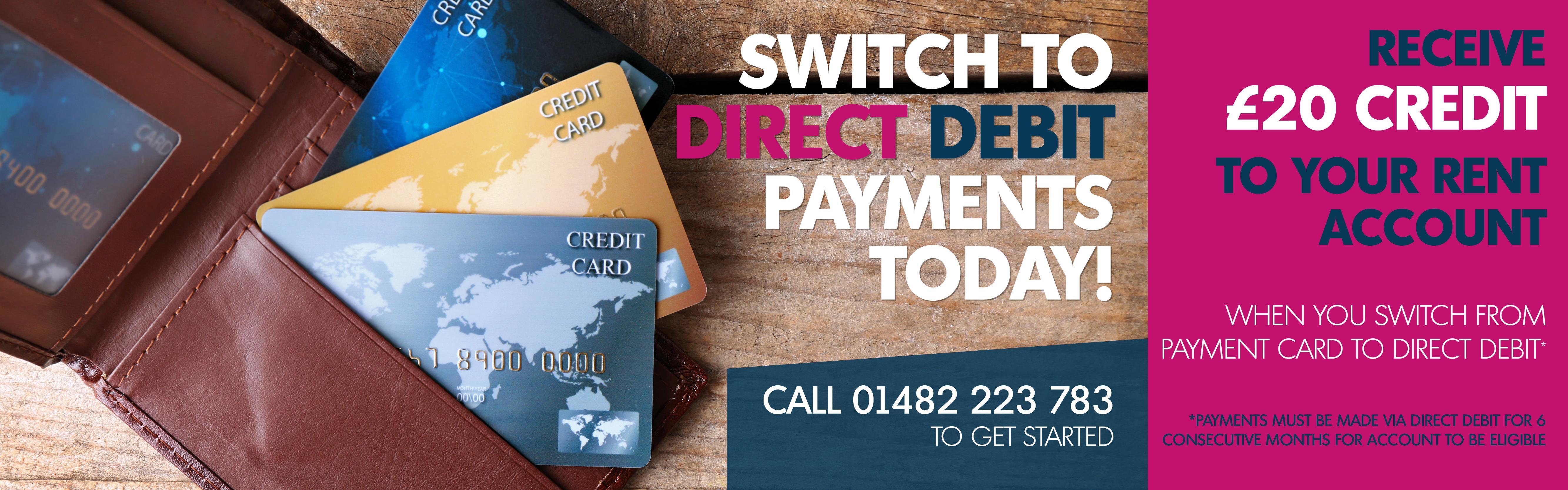direct debit banner B